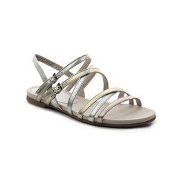 Marco Tozzi Flat Sandals - Metallic - 28115/22/916 CALOSTRAP