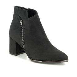 Marco Tozzi Ankle Boots - Black - 25015/23/001 DELOZIP