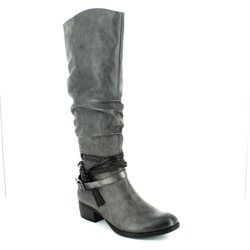 Marco Tozzi Boots - Long - Dark grey multi - 25507/226 DREMA 72