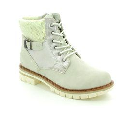 Marco Tozzi Boots - Short - Off white - 26242/119 GRANDE ICE