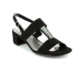 Marco Tozzi Heeled Sandals - Black - 28202/001 HECHO