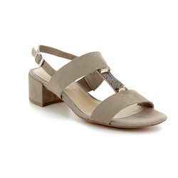 Marco Tozzi Heeled Sandals - Taupe - 28202/20/341 HECHO 81
