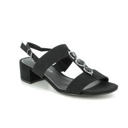 Marco Tozzi Heeled Sandals - Black - 28200/24/001 HECHOGEM