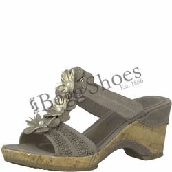 Marco Tozzi Wedge Sandals - Taupe - 27213/20341 LOZIM