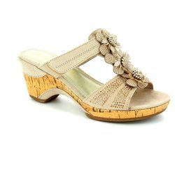 Marco Tozzi Sandals - Light taupe - 27213/405 LOZIO