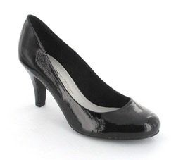 Marco Tozzi Heeled Shoes - Black patent - 22429/001 MARANO