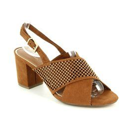 Marco Tozzi Heeled Shoes - Tan - 28311/305 PADUSI