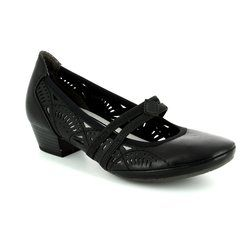 Marco Tozzi Court Shoes - Black - 24503/002 PAVOBAR