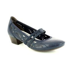 Marco Tozzi Heeled Shoes - Navy - 24503/892 PAVOBAR