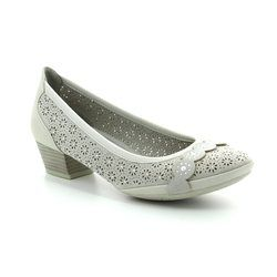 Marco Tozzi Court Shoes - Light grey - 22505/20248 PAVOPERF 81