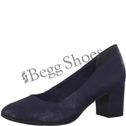 Marco Tozzi Court Shoes - Navy - 22426/30824 PERI 81