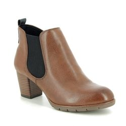 Marco Tozzi Ankle Boots - Tan - 25395/33/310 PESALEA