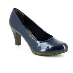 Marco Tozzi Heeled Shoes - Navy patent - 22409/805 SENAGO 61