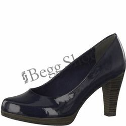 Marco Tozzi Heeled Shoes - Navy patent - 22409/20826 SENAGO 81