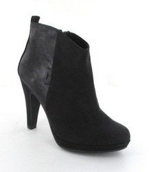 Marco Tozzi Boots - Ankle - Black suede - 25363/001 TAGGI 45