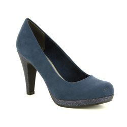 Marco Tozzi Heeled Shoes - Navy multi - 22441/30890 TAGGISPA 81