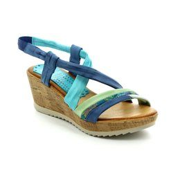 Marila Sandals - Blue multi - 181 BA 25 ARENA
