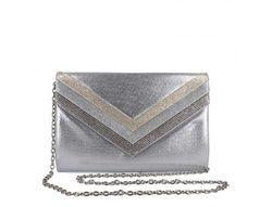 Menbur Occasion Handbags - Silver - 84664/09 TEORA BAG