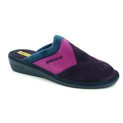 Nordikas Slippers & Mules - Purple multi - 4507/8 MUSPATCH 72