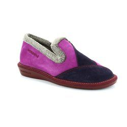 Nordikas Slippers & Mules - Purple multi - 4508/4 TAPATCH 42
