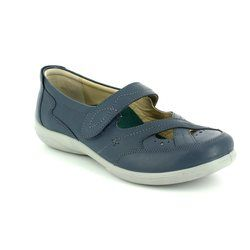 Padders Comfort Shoes - Navy - 0871/24 CELLO 2E-3E FIT