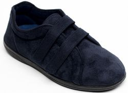 Padders Slippers & Mules - Navy - 0415/24 DUAL   G-H FIT