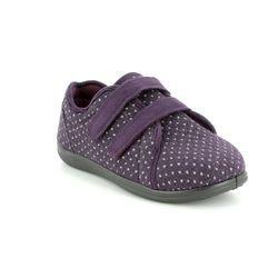 Padders Slippers & Mules - Purple multi - 0431/95 DUO    2E-3E
