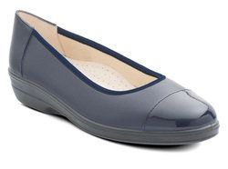 Padders Comfort Shoes - Navy - 648/96 FEARNE 2E FIT