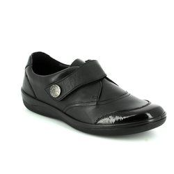 Padders Comfort Shoes - Black patent - 0247/38 GABY E FIT