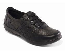 Padders Everyday Shoes - Black - 0872/38 HARP