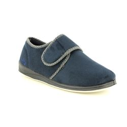 Padders Slippers & Mules - Navy - 0410/24 HARRY  G FIT