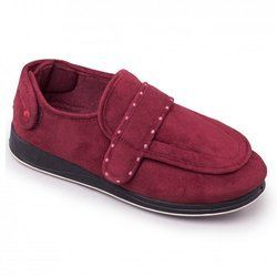 Padders Slippers & Mules - Wine - 427W/81 ENFOLD 2E FIT