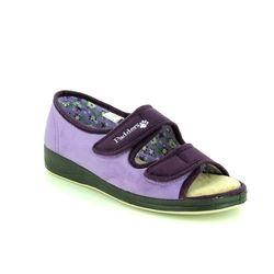 Padders Slippers & Mules - Purple - 414/78 LYDIA 2E FIT