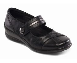 Padders Comfort Shoes - Black multi - 0290/38 SUNSHINE E-2E