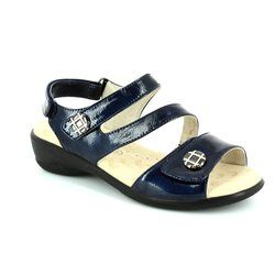 Padders Sandals - Navy patent - 0740/23 VIENNA E FIT