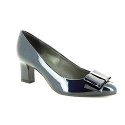 Peter Kaiser Court Shoes - Navy - 53237/777 CARA