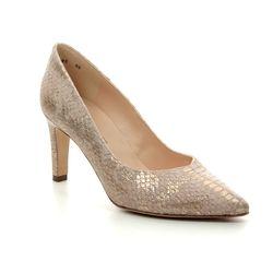 Peter Kaiser Heeled Shoes - Gold - 76311/292 ELFI
