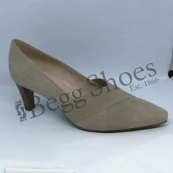 Peter Kaiser Court Shoes - Beige suede - 68129/125 MALANA