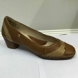 Pikolinos Court Shoes - Tan multi - W6R5831/11 GOMERA