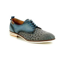 Pikolinos Brogues - Navy - W3S5777/70 ROYAL