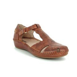 Pikolinos Closed Toe Sandals - Tan - 6550574/11 VALLARIS