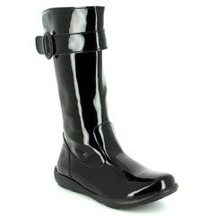Primigi Girls Boots - Black patent - 8151000/34 FLORA BOW