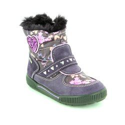 Primigi Girls 1st Shoes & Prewalkers - Purple - 6546077/99 TITI GORE-TEX