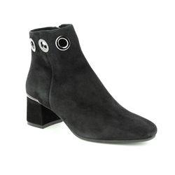 Regarde le Ciel Ankle Boots - Black Suede - 3071/33 ILLARY 19