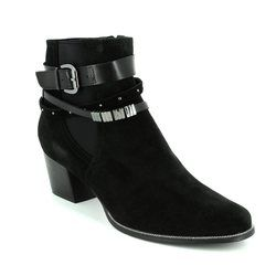 Regarde le Ciel Boots - Ankle - Black suede - 1004/30 ISABEL 26