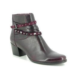 Regarde le Ciel Boots - Ankle - Wine leather - 4641/81 ISABEL 68
