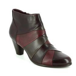 Regarde le Ciel Boots - Ankle - Wine multi - 1005/80 MARISI 22