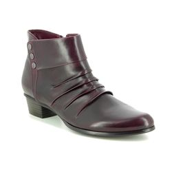 Regarde le Ciel Boots - Ankle - Wine leather - 8008/81 STEFANY 278