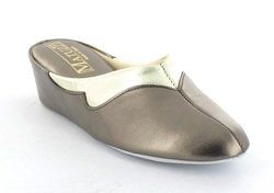 Relax Slippers Slippers & Mules - Pewter multi - 3131/11 TRIM   3131-88
