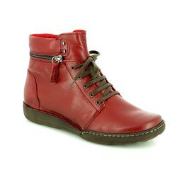 Relaxshoe Boots - Ankle - Dark Red - 215154/60 CALYHIZE
